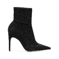 Sergio Rossi pointed ankle boots - ブラック