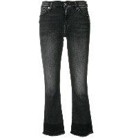 7 For All Mankind クロップド ジーンズ - グレー