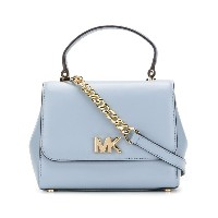 Michael Michael Kors Mott medium satchel - ブルー