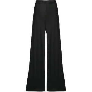 Max Mara high waisted palazzo pants - ブラック