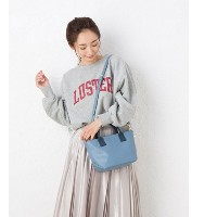 soft touch 2way tote bag【ヒッチハイク/HITCH HIKE レディス トートバッグ BL ルミネ LUMINE】