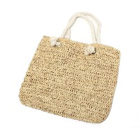 HAT ATTACK(ハットアタック) トートバッグ フィッシャーマン ロープ ナチュラル HAT ATTACK FISHERMAN TOTE W/ROPE NATURAL レディース #WN ...