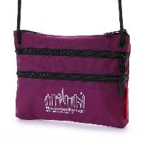 マンハッタンポーテージ Manhattan Portage CORDURA® Lite Collection Triple Zipper Pouch (Purple) レディース メンズ