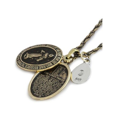 amp japan(アンプ ジャパン)【Brass Maria Locket Necklace [1AO-115S] / ブラス マリア ロケットネックレス】[正規品](ペンダント...
