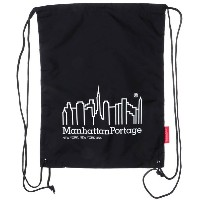 マンハッタンポーテージ Manhattan Portage CORDURA® Lite Collection Drawstring Bag (Black) レディース メンズ