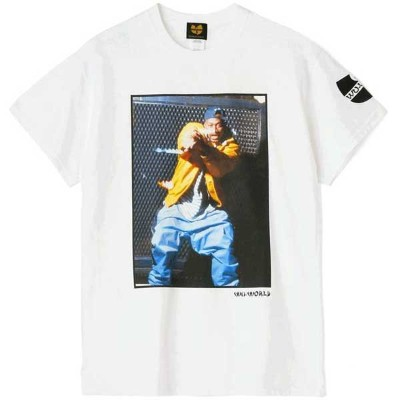 【WU-WORLD】(ウータン・クラン)WU GHOSTFACE TEE(WHITE)