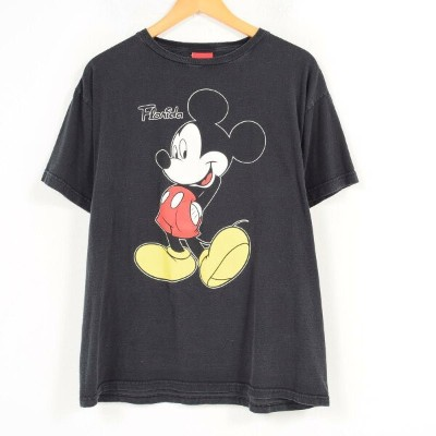 JERRY LEIGH MICKEY MOUSE ミッキーマウス キャラクタープリントTシャツ フリーサイズ /wau6537 【中古】【古着屋JAM】 【180607】