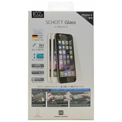 パワーサポート iPhone 6用 SCHOTT Glass PYC-03[PYC03]