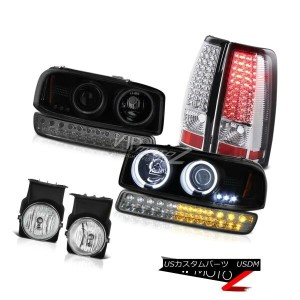 ヘッドライト 2003-2006 Sierra SLE Foglights LED Taillamps Smokey Parking Lamp Headlamps LED 2003-2006...