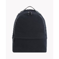 【Theory】Heavy Chino Soft Backpack 【30%OFF】コットンチノx牛革のシンプルなバックパック。 ブルー 大人 セオリー