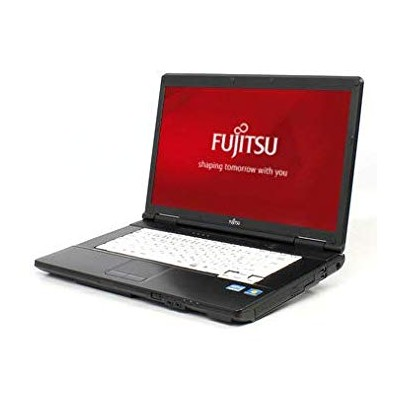 Windows7 Pro 32BIT/富士通 LIFEBOOK A572 Core i3-2370M 2.40GHz/メモリ4GB/HDD 250GB/DVD/15.6型大画面/無線WIFI有...