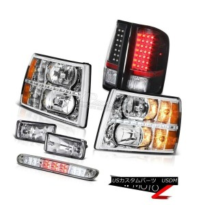 ヘッドライト 07-13 Silverado LTZ Headlights led drl fog lamps roof brake lamp tail LED SMD 07-13...