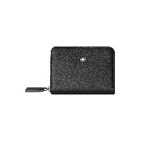レディース MONTBLANC Meisterstuck soft grain coin case zip small 小銭入れ ブラック