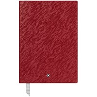 レディース MONTBLANC Fine Stationery Notebook #146 Red, Lined ノート レンガ