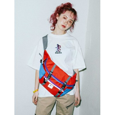 X-girl(エックスガール)#1 X-GIRL SK8 HIP BAG