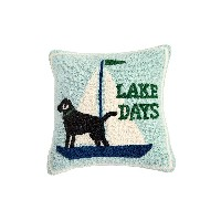 【33%OFF】LAKE DAYS HOOKED クッション レイクデイズ オフィス用品 > その他