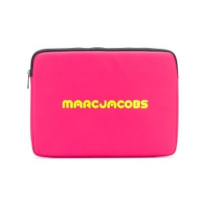Marc Jacobs ロゴプリント PCケース - ピンク