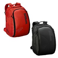 【予約品】Wilson(ウイルソン)FEDERER DNA BACKPACK Red/WRZ830896 Black/WRZ832896
