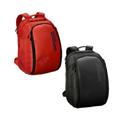 【発売開始!】Wilson(ウイルソン)FEDERER DNA BACKPACK Red/WRZ830896 Black/WRZ832896