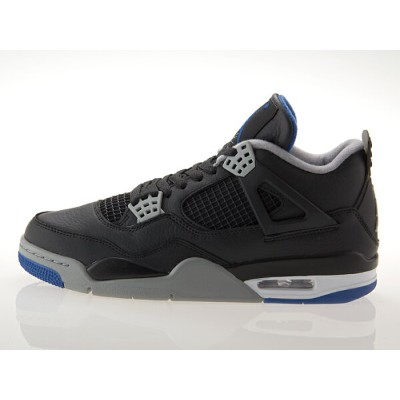 ナイキ NIKE AIR JORDAN 4 RETRO エア ジョーダン 4 レトロ 【MOTORSPORT AWAY】 BLACK/GAME ROYAL/SILVER #308497-006