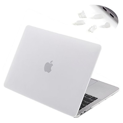 LENTIONプラスチックハードケースfor 13インチMacbook Pro with Retina Display ( a1706 / a1708、マット仕上げケースwithゴム足 ホワイト...