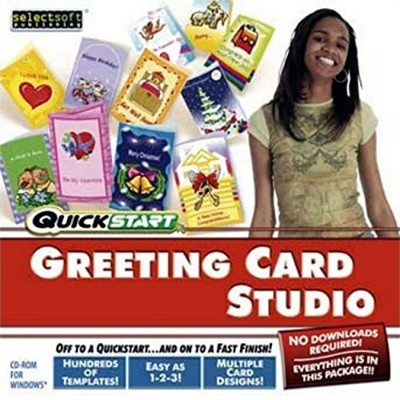 Quickstart QS-GREETCARDST Greeting Card Studio [windows 98/me/2000/xp] (輸入版)