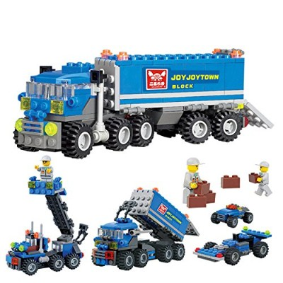 LuxBene(TM)163 Pieces Child Educational Toys Dumper Truck DIY Toys Building Block Sets Intelligent...