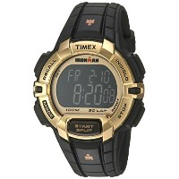 Timex Ironman Rugged 30フルサイズ腕時計 Black/Gold-Tone