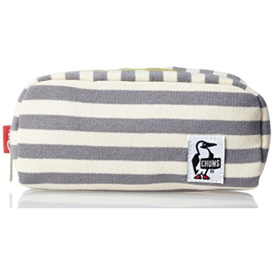 [チャムス] ポーチ Hurricane Pouch Sweat CH60-0631-W032-00 W032 White-Gray
