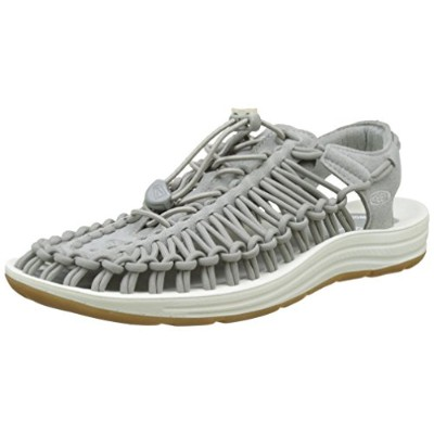 Keen メンズ KEEN Uneek 1017037 Neutral Gray/White 10.5 (28.5cm)