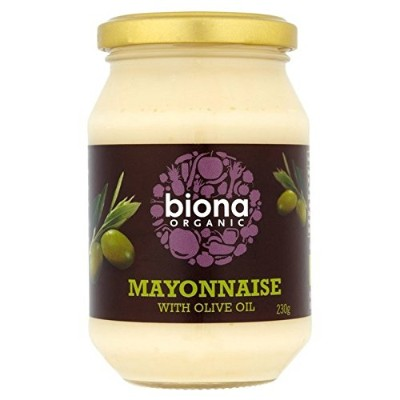Biona Organic Mayonnaise with Olive Oil 230g - (Biona) オリーブオイル230グラムと有機マヨネーズ [並行輸入品]