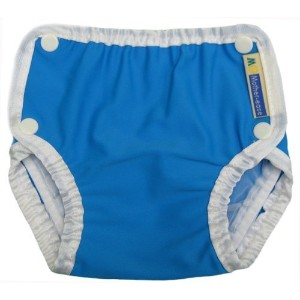 Mother-Ease Swim Diaper - Blue - X-Large (33-40 lbs) by Mother-Ease [並行輸入品]