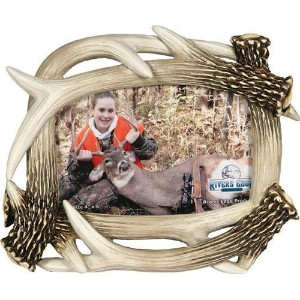 "Rivers Edge Products Picture Frame 4""x6"" Antler by Rivers Edge Products [並行輸入品]"