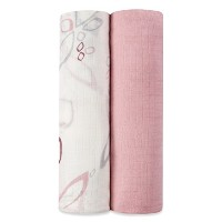 aden by aden + anais silky soft swaddle 2 pack, bella by aden + anais