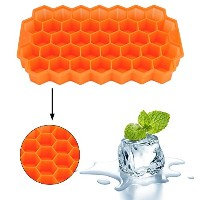 New Arrival 37 Ice Cubes Honeycomb Ice Cream Maker Form DIY Pops Mould Popsicle Molds Yogurt Ice...