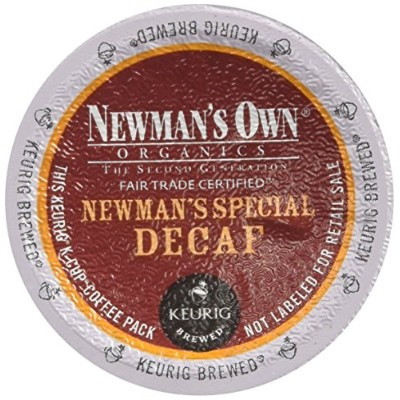 Newman's Own Organics SPECIAL BLEND DECAF 48 K-Cups for Keurig Brewers by Newman's Own