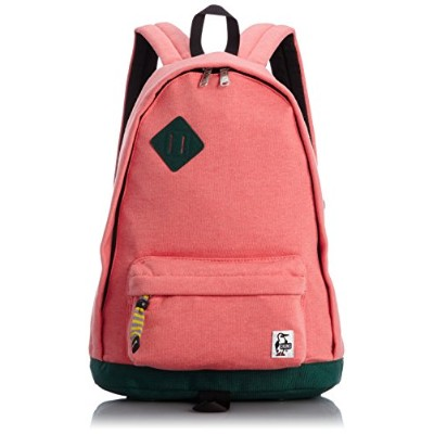 [チャムス] CHUMS Classic Day Pack Sweat Nylon CH60-0681 H-Coral/Ivy (ヘザーコーラルアイビー)