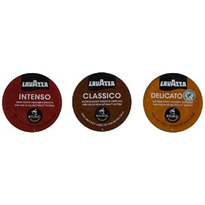 30 Count - Lavazza Sampler Pack for Keurig Rivo (3 Flavors, 10 Pods Each) *No Decaf* by Lavazza