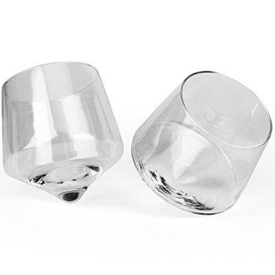 Barbuzzo Rolling Whiskey Glasses ( Set of 2 )
