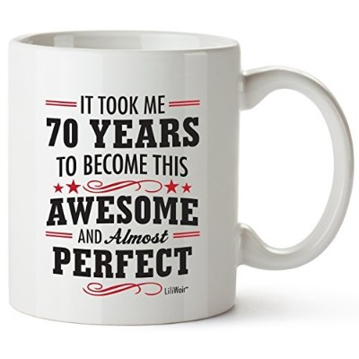 70th Birthday Gifts For Women Seventy Years Old Men Gift Happy Funny 70 Mens Womens Womans Wifes...