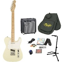 Squier by Fender/Affinity Telecaster Arctic White エレキギター 初心者15点セット フェンダーアンプSET