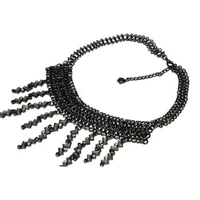 Chainmailleエレガンスネックレス仕上げYour Look With A Mysterious beauty