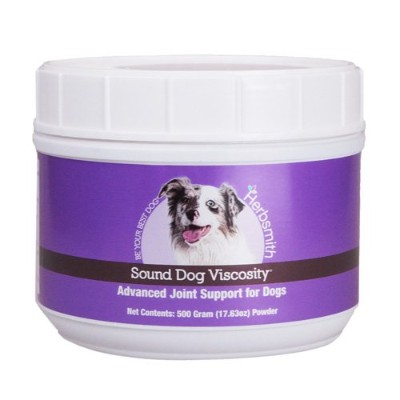 Herbsmith Sound Dog Viscosity Joint Support for Dogs and Cats, 500gm Powder by Herbsmith, Inc.