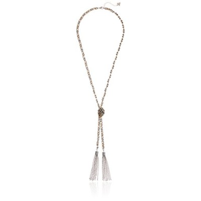 Guessメタルネックwith Tassel Y字型ネックレス