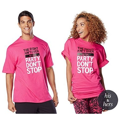 Zumba (ズンバ) Party In Pink Tee Free Size [並行輸入品]
