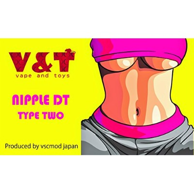 V&T NIPPLE DT type two (サニタリーRED)