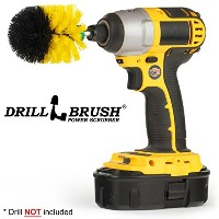 Mini Size Original Drillbrush Tub and Tile Power Scrubber by Drillbrush
