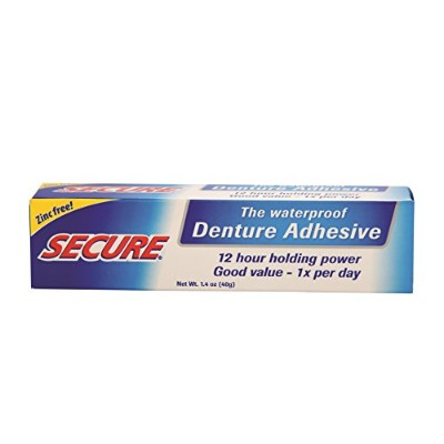 Secure Denture Bonding Cream, 1.4 Ounce -- 2 per case. by Secure Denture