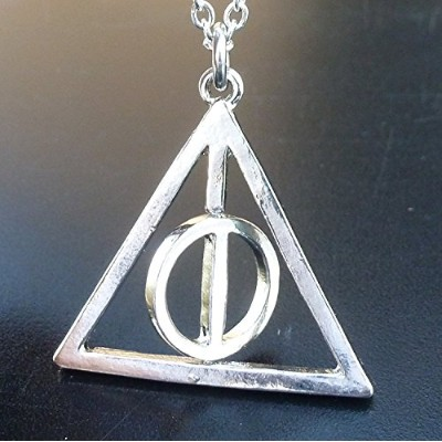 Spinning Magical Fantasy Necklace Pendant Charm 925 Silver plated-- Gift BOX