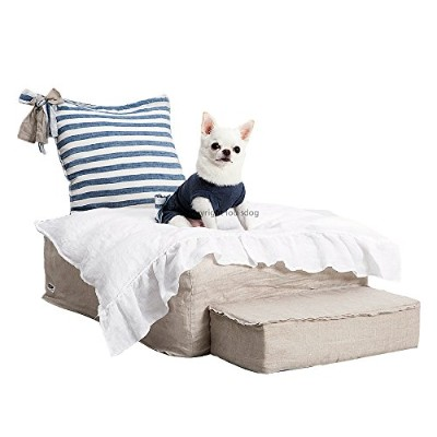 LouisDog ルイスドッグ Heavenly Bed Natural White Blan 犬用ベッド